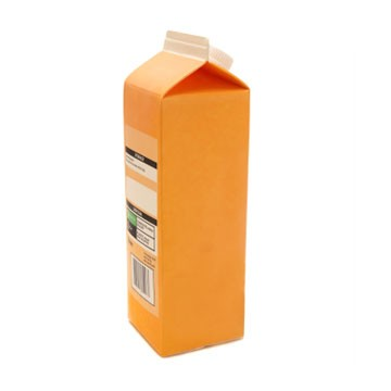 cartons of orange juice. Lifestyle Orange Juice Carton